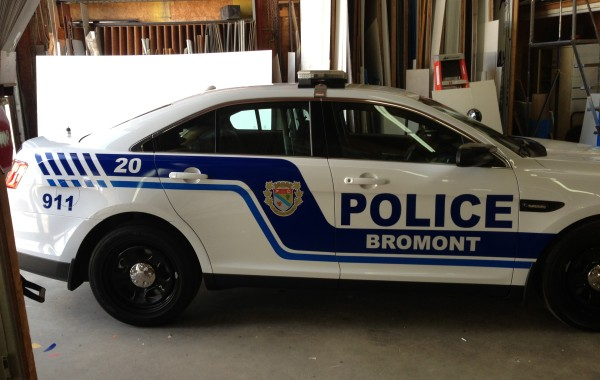 Police Bromont